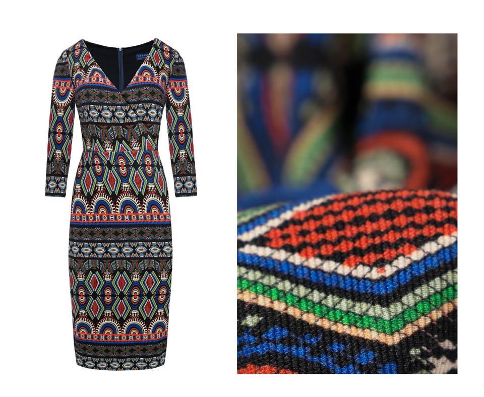 Tabanna - sukienka wewzory