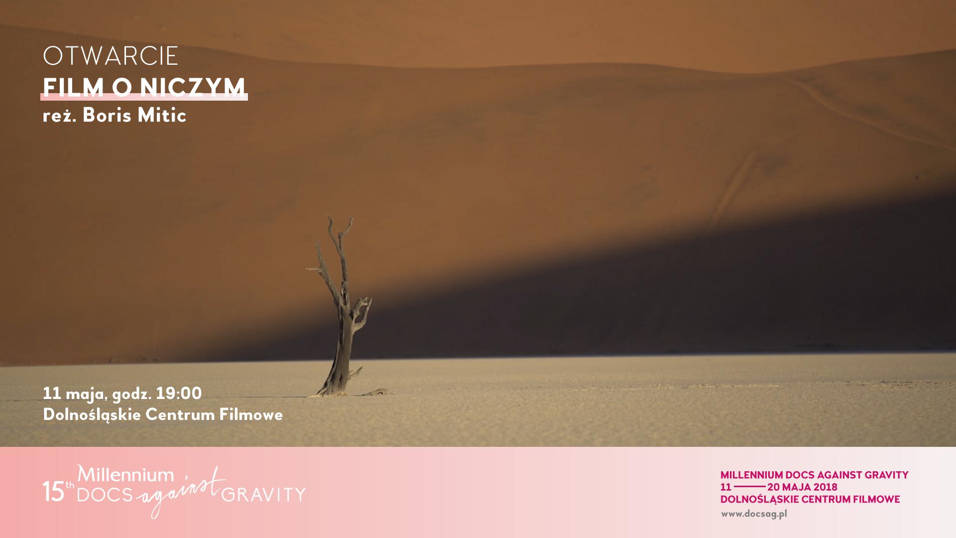15. Festiwal Filmowy Millennium Docs Against Gravity