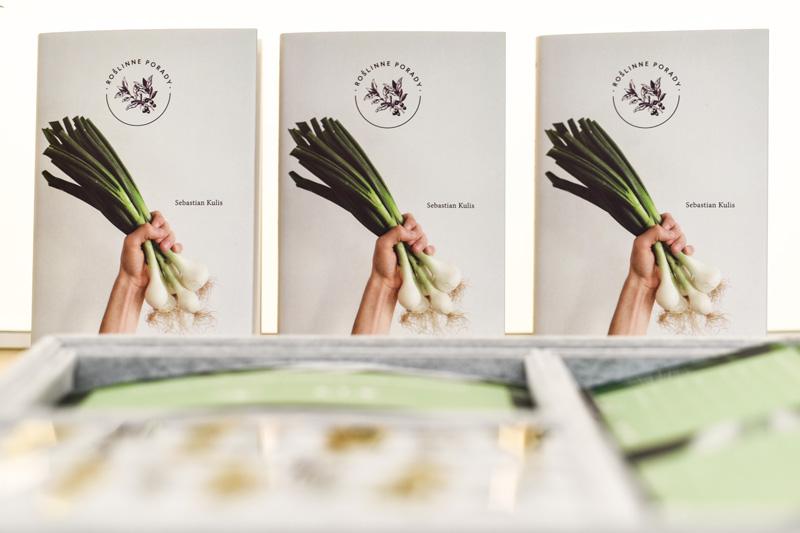 Roślinne Porady autorstwa Sebastiana Kulisa topraktyczny poradniko warzywach.