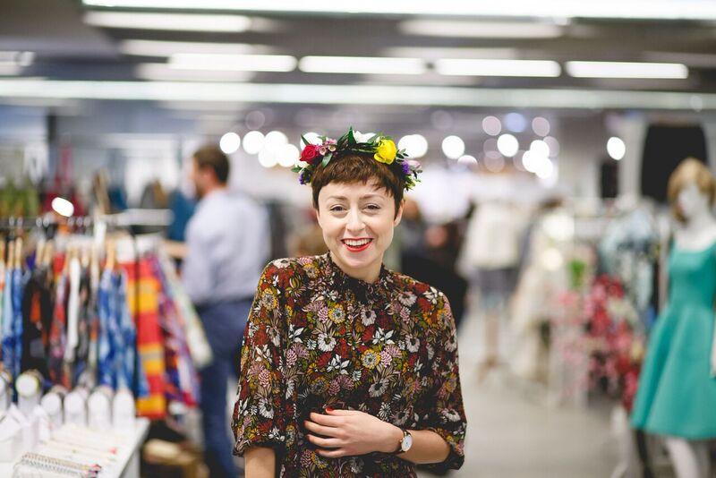 Natalia Przybysz Slow Fashion targi polskich projektantów