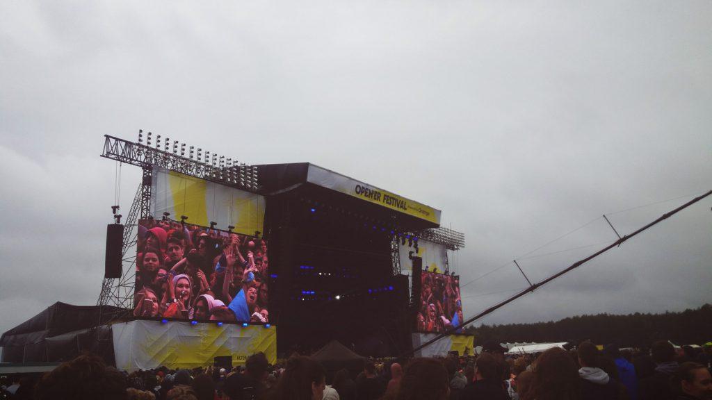 Moda Open'er festiwal w2017 roku.