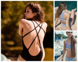 Strój kąpielowy zwyciętymi plecami istrój sportowy wFu-Ku Concept Store.
