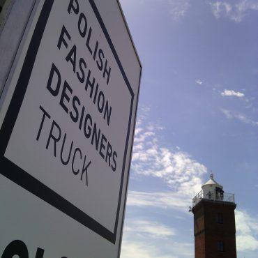 Fu-Ku Fashion Truck zacumował przy Latarni Morskiej w Darłowie