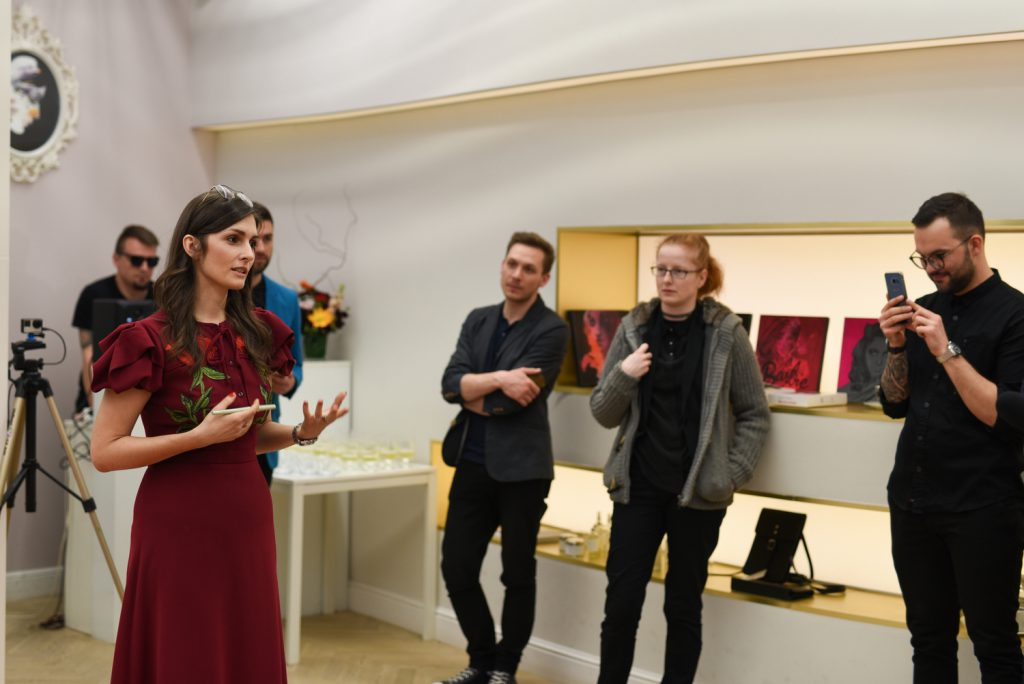 Wernisaż Anny Halarewicz wFu-Ku Concept Store iszóste urodziny butiku.