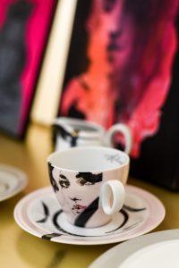 Polski design - porcelana marki VOLA. artof deco zlimitowanej kolekcji Anny Halarewicz.