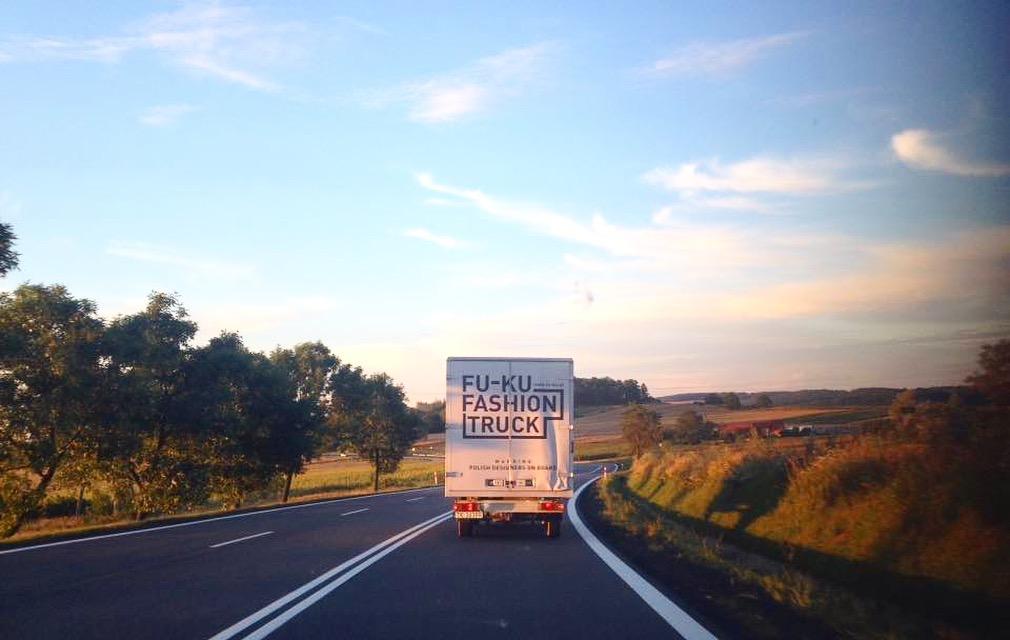 Fu-Ku Fashion Truck wdrodze zKłodzka