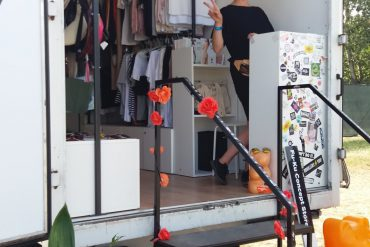 Aga Jarosz w Fu-Ku Fashion Trucku