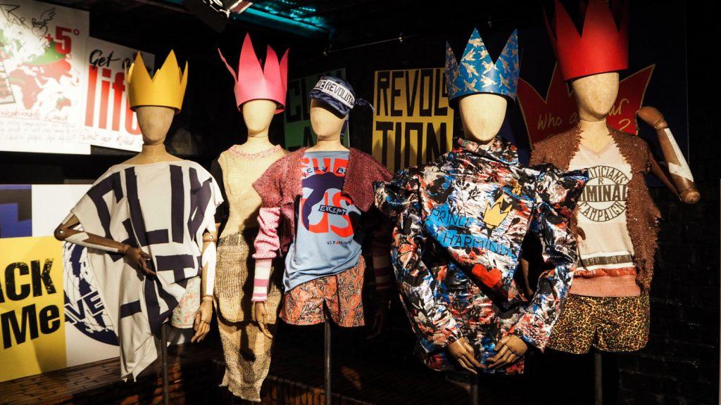 Wystawa Vivienne Westwood podczas targów mody Bread and Butter.