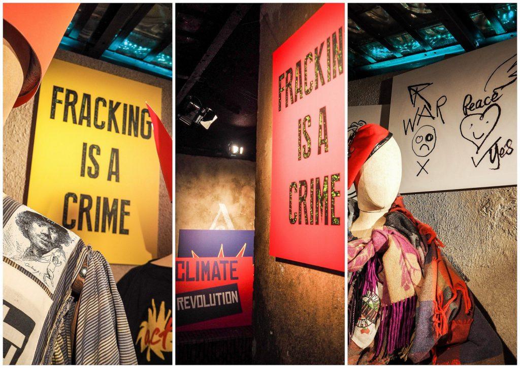 Vivienne Westwood ijej projekty wduchu rewolucji.