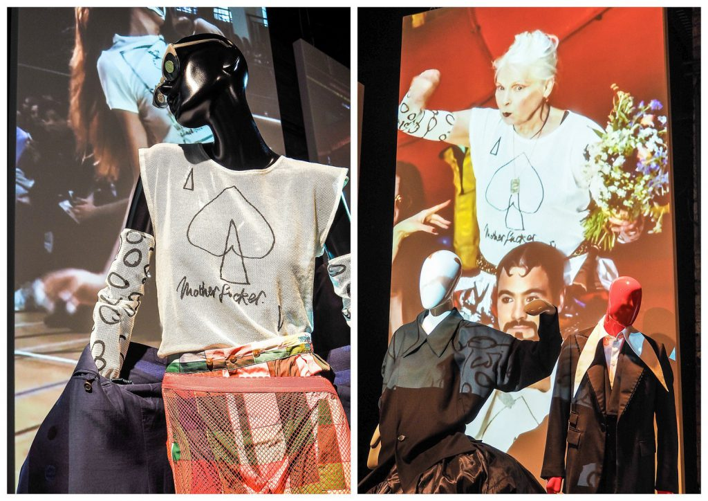 Rewolucyjne projekty Vivienne Westwood.
