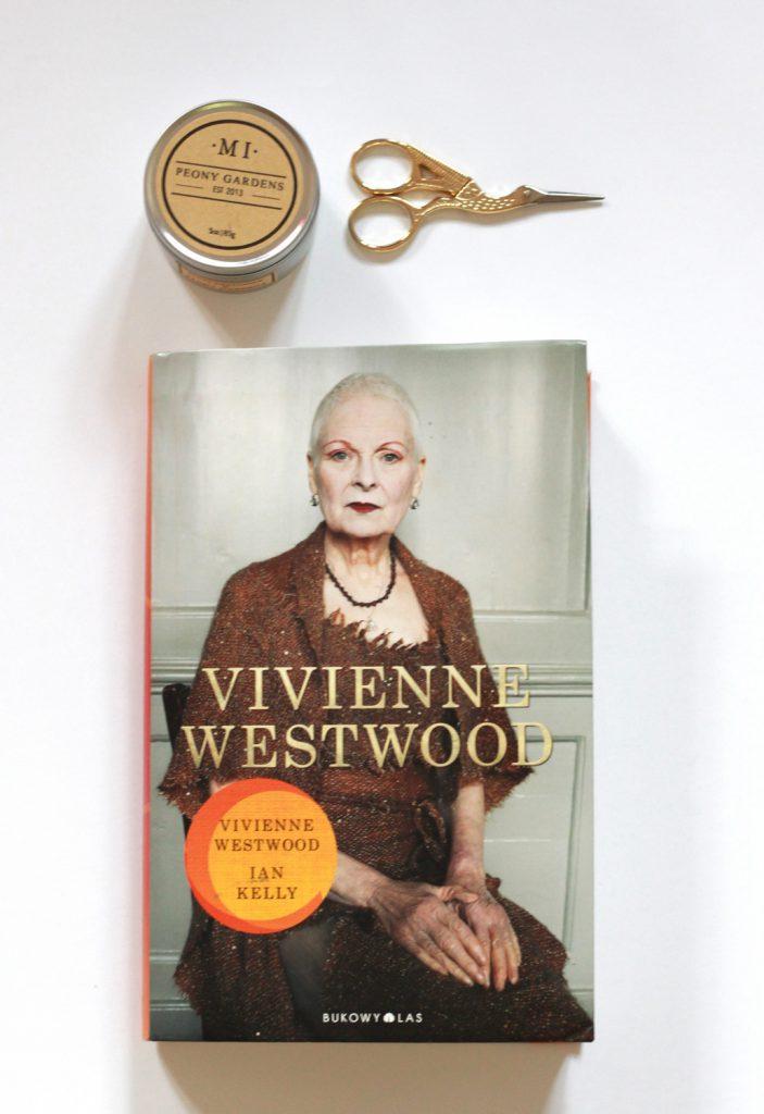 Biografia Vivienne Westwood, autor Ian Kelly, wydawnictwo Bukowy Las.