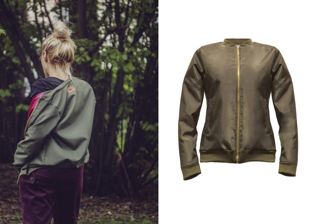 Wyprzedaże jesień 2017: kurtka bomberka polscy projektanci mody.