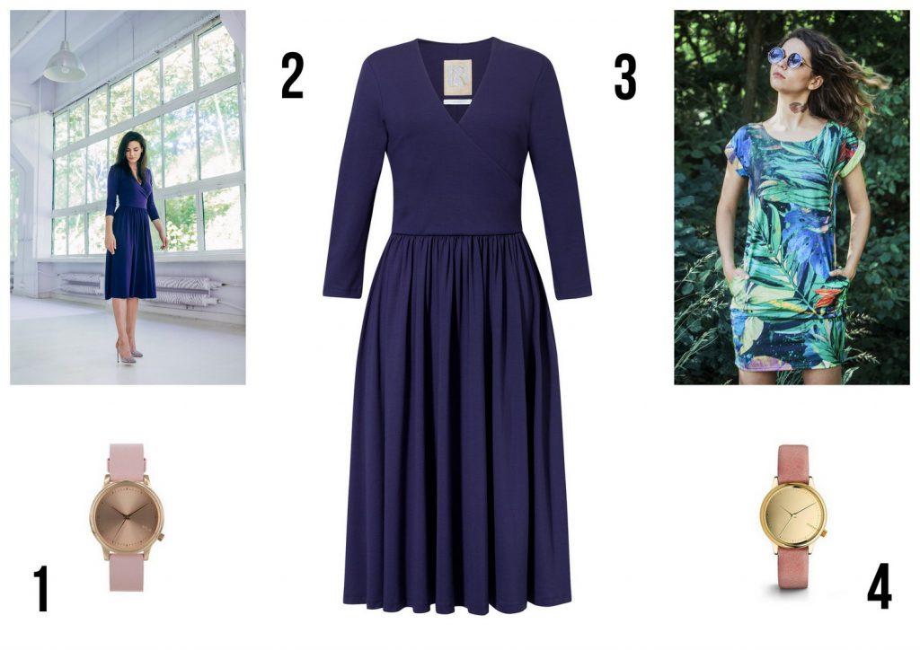 Wyprzedaże jesień 2017: sukienki Risk made in warsaw.