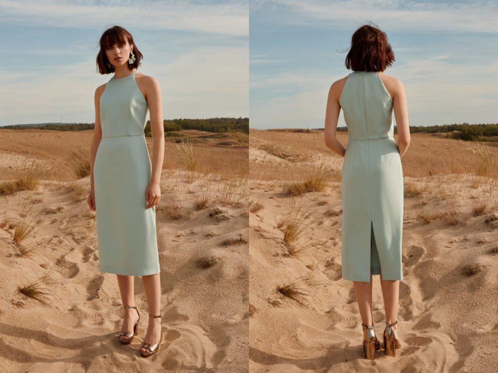 Minimalistyczne sukienki nawesele Undress