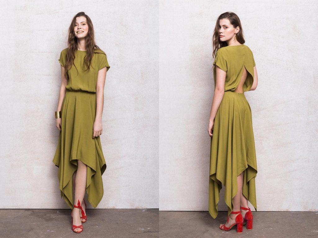 Minimalistyczne Sukienki Na Wesele Fu Ku The Slow Fashion Concept