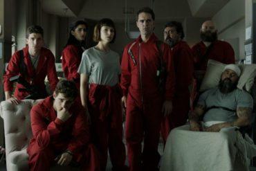 Seriale z Netflixa na wakacje - Dom z papieru