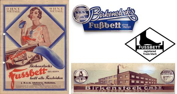 Birkenstock początek marki