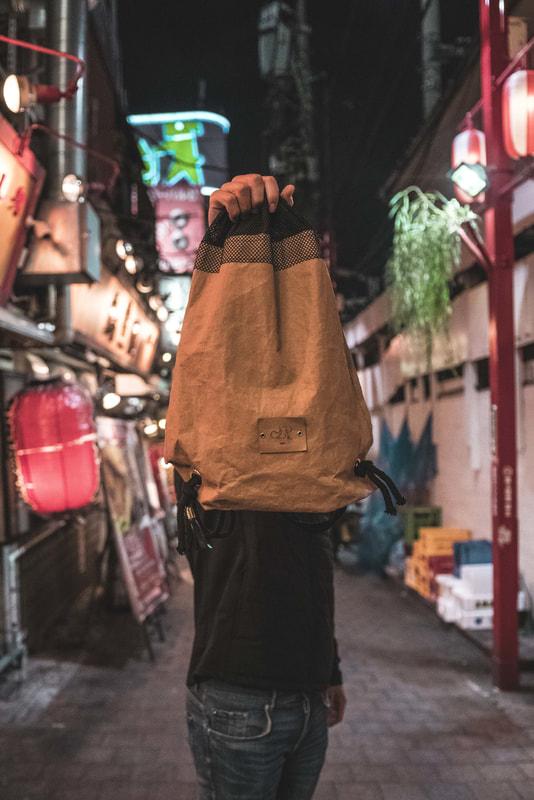 Plecaki z papieru