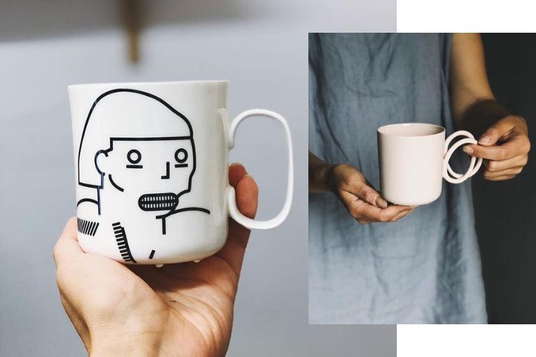 Niezbędnik jesienny kubki odEnde Ceramics