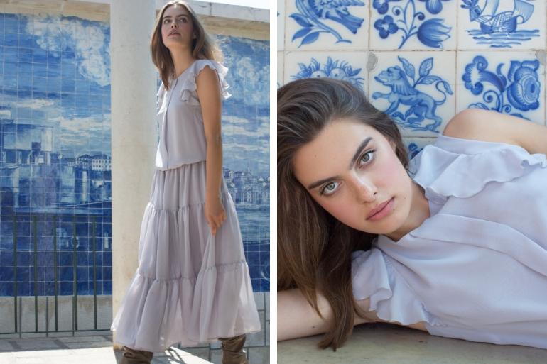 Sukienki nawesele falbanki