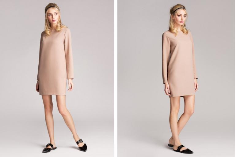 sukienka nawesele minimalizm