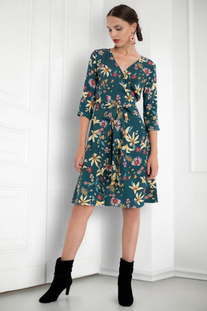 sukienki kopertowe propozycje