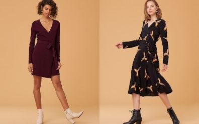 Sukienki kopertowe