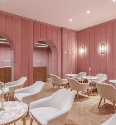 Kawiarnie irestauracje wkolorze Millennial Pink