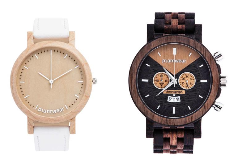 Designerskie zegarki Plantwear