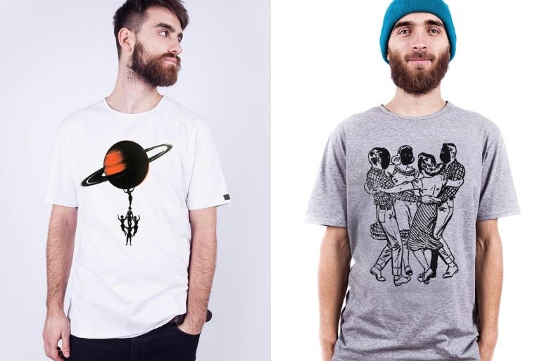 Koszulki męskie odpolskich projektantów Dzieńdobry