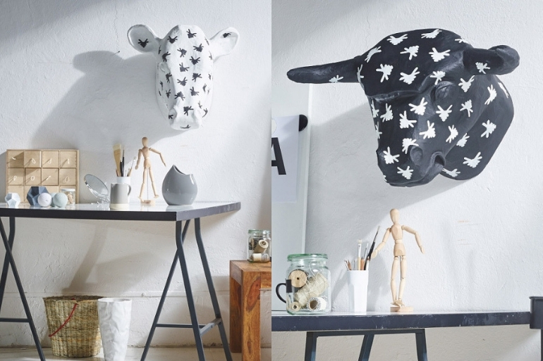 Jak ozdobić pustą ścianę wmieszkaniu? Paper Sculpture