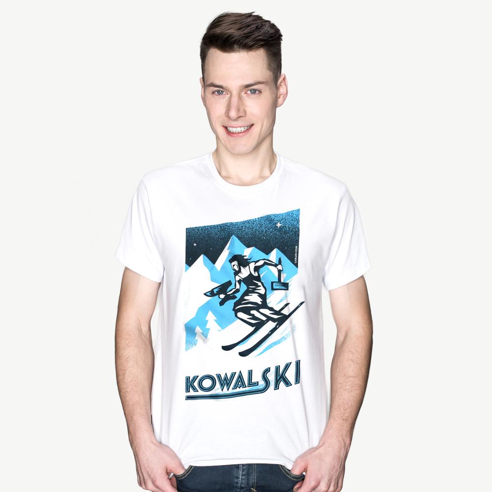 Koszulki męskie od polskich projektantów Chrum